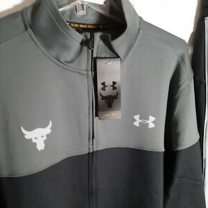 UNDER ARMOUR Mens Project Rock Track Jacket Brand New size Large