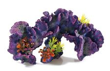 Large Colourful Coral Reef Garden with Plants Fish Tank Aquarium Ornament