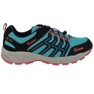 Kastinger Damen Schuhe Trailrunner Azure Blau/Schwarz/Pink