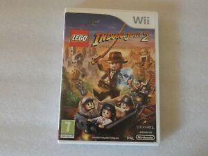 lego indiana jones 2 - Jeu Nintendo Wii (FR) - PAL - avec notice