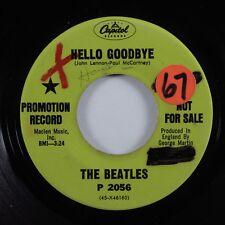 Rock 45 BEATLES Hello Goodbye CAPITOL promo HEAR