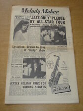 MELODY MAKER 1955 SEPTEMBER 3 FLAMINGO RONNIE SCOTT HUMPHREY LYTTELTON +