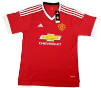 Manchester United Adidas Soccer Jersey Chevrolet Red Adult