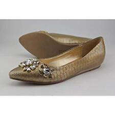 Mocassini e ballerine da donna pantofole in oro