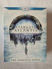 (Blu-ray) STARGATE: ATLANTIS - The Complete Series (2011, 20-Disc Set)
