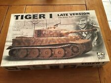MAQUETTE TANK CHAR TIGER I LATE VERSION MICHAEL WITTMANN AFV CLUB AF 35S27 NEUF