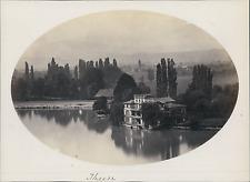 Suisse, Thun, Thoune, Vue sur le Lac      Vintage albumin print Tirage alb