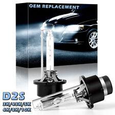 2X D2S 6000K Diamond White For OEM  66240 66040 85122 Xenon HID Headlight Bulbs