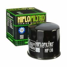 Hiflofiltro HF138 Motorcycle Oil Filter - Glossy Black