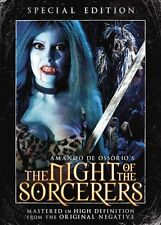 The Night of the Sorcerers DVD Paul Naschy w/ Slipcover NEW/SEALED RARE OOP