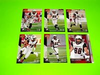 6 OTTAWA REDBLACKS UPPER DECK CFL FOOTBALL CARDS 47 55 57 58 60 62 #-4