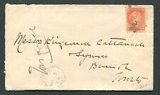 CANADA #41 SMALL QUEEN FANCY CANCEL COVER