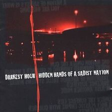 DARKEST HOUR Hidden Hands Of A Sadist Nation CD & DVD 2 Disc Set 2003 Victory