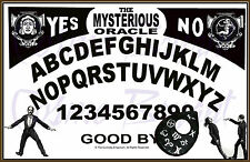 ORIGINAL VINTAGE ART MYSTERIOUS ORACLE OUIJA SPIRIT BOARD by Cosmo Bryant 12