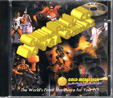 Game Pack CD 40 VGA Games Gold Medallion Collection(PC DOS CD JEWEL CASE) NEW