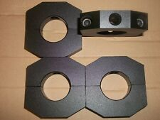 Qty of 4..... 1-1/2 inch alum round weight clamps.. late models .........