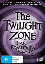 THE TWILIGHT ZONE - FAN FAVOURITES - VOLUME 2 (5 DVD SET) BRAND NEW!!! SEALED!!!