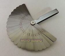 """26 Blade Metric / Imperial Feeler Gauge set 0.04mm - 0.63mm .0015"""" 025"""""""