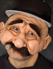 Stan The Man Funny Old Baseball Adult Halloween Mask Eat & Drink While Wearing