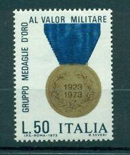 Italia Repubblica 1973 - B.1338 - Medaglie al Valor Militare