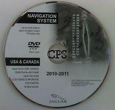 Jaguar Navigation DVD Update 2009-2010 West Coast Map free Shipping