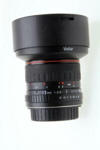 Vivitar Series 1 13mm f/2.8 Ultra Wide Aspherical ED AS IF  Lens for Canon EOS
