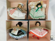 "MADAME ALEXANDER 8"" DOLLS 4 SCARLET 425 BETSY ROSS RUSSIA 574 ROMANIA 586"