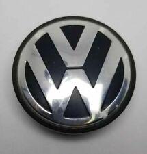"""OEM Volkswagen VW Wheel Center Cap Black 2.5"""" Beetle Jetta Passat 3B7601171"""