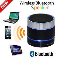 MINI Altoparlante Wireless Bluetooth per iPhone iPad MP3 con LED luce danzante UK