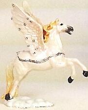 Pferd Flügel Pegasus Pillendose Sammlerstück Figur Schmuck Schatulle Geschenk