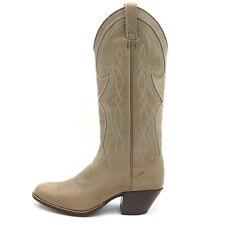 Dan Post Gray Green Leather Western Cowboy Boots Women's 6 C