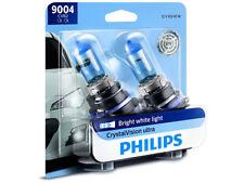 2x NEW PHILIPS CRYSTAL VISION 9004 9004CVB2 HEADLIGHT FOG LIGHT MADE IN GERMANY