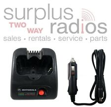 USED MOTOROLA RAPID DROP IN CAR CHARGER FOR SP50 SP50+