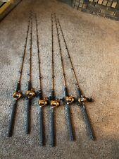 6 okuma deadeye fishing rods telescoping combo's