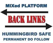 1,000 Mixed Platform High Authority Expert SEO BACKLINKS