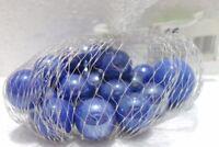 n° 1 confezione Sacchetto di 24 biglie da 15 mm. + 1 da 24 mm. viola/argentato