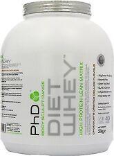 PHD Nutrition Diet Whey 2kg Protein Grenade Black Ops 44 Capsules BB Nov 16 Chocolate Orange