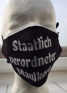 1 x FFP2 Maske CE0598 +1 x Stoffmaske waschbar staatlich verordneter Maulkorb