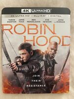 ROBIN HOOD (2018) - 4K Ultra HD UHD disc only (No Blu-ray Digital Copy)