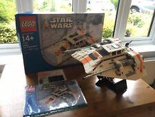 Star Wars Lego 10129: Snowspeeder 100% Complete & Boxed