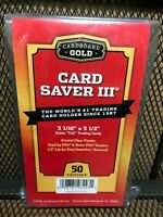 Card Saver 2 Cardboard Gold PSA Graded 200 Ct Holders w// Storage Box UPC2200