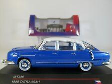 IXO iST, 1:43 Scale TATRA 603/1 (1958) CLASSIC CZECH LUXURY CAR in BLUE #IST 236