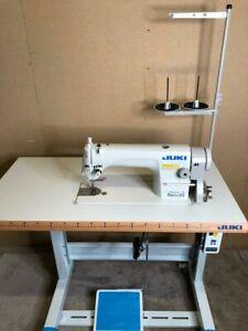 Juki 8700H Heavy Duty Industrial Sewing Machine with super silent servo motor.