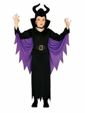 Halloween Evil Fairytale Queen Child Costume 3-12 Years Variation