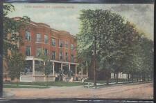 Postcard MT CLEMENS Michigan/MI  Cass Avenue Glenwood Apartment House view 1907