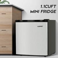 1.1Cu. ft. Compact Upright Freezer w/ Reversible Stainless Steel Door Adjustable