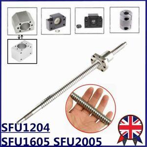 BallScrew SFU1204 SFU1605 SFU2005 End Machine BK/BF10/12/15 Housing Coupler CNC