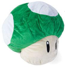 Super Mario Bros. 1-UP Mushroom 12 Inch Plush Cushion