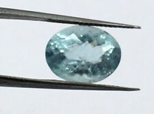 4.50 CT - Natural Aquamarine Loose Gemstone 12.5X9.5 mm Oval Cut S54