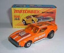 MATCHBOX superveloce No. 44, BOSS Mustang, - Menta SUPERBA.